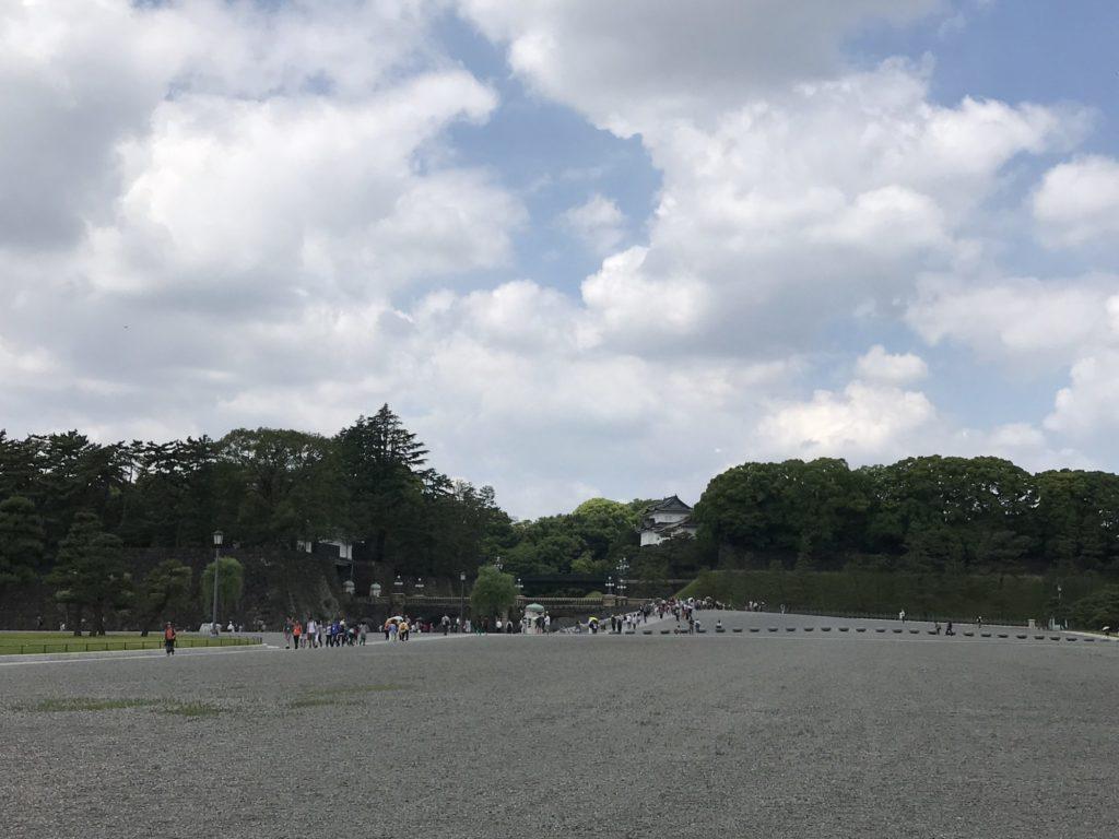 二重橋広場