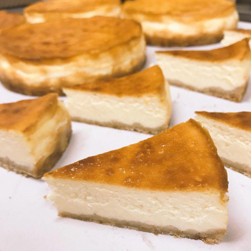 お菓子のふじいのチーズケーキ