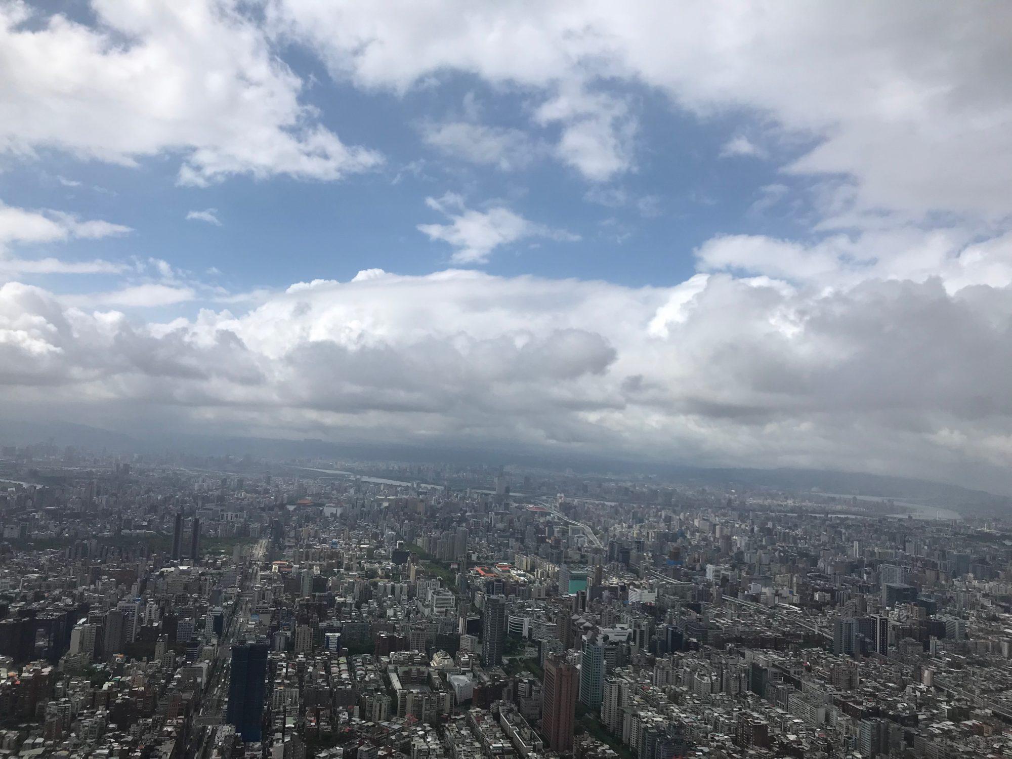 台北101の眺め