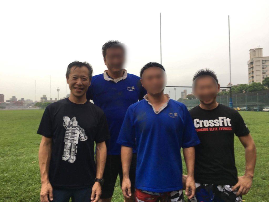 台湾ラグビーに参加