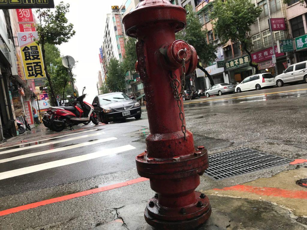 台湾の消火栓