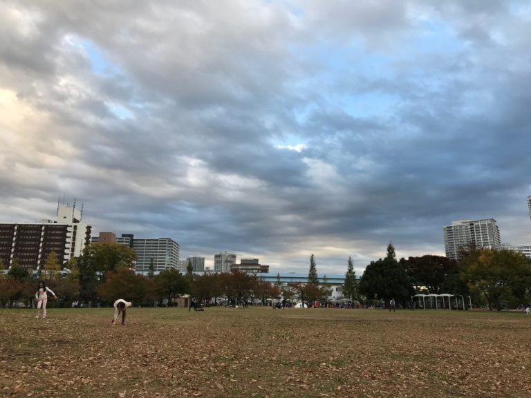 豊洲の公園