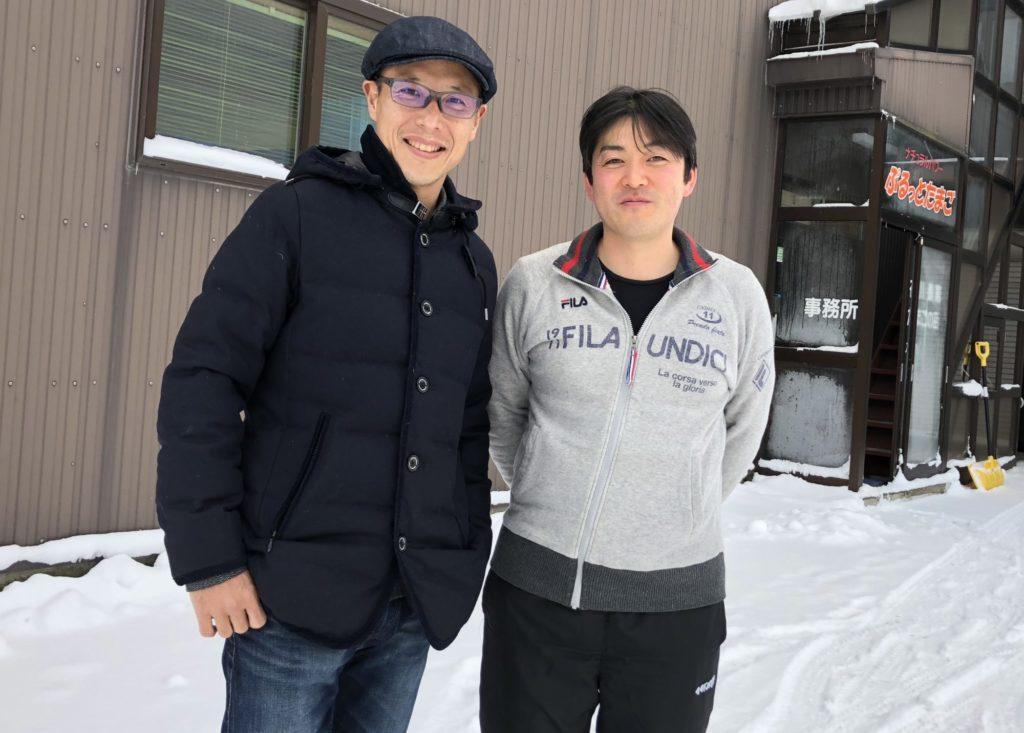 石川さんとツーショット