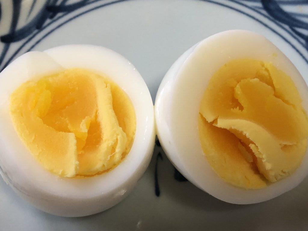 ヘルシオで作ったゆで卵