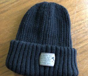 毛糸の帽子