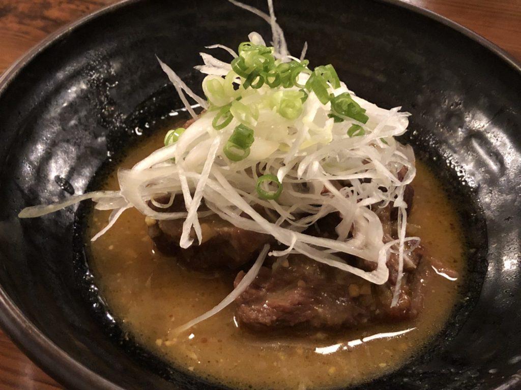 牛タンの味噌煮